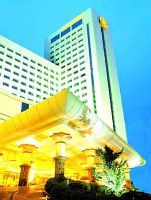 大酒店地址:   嘉华大酒店是东莞厚街首家五星级豪华商务酒店高清图片